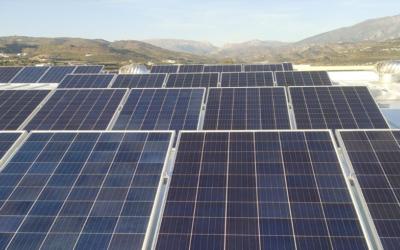 Instalación Fotovoltaica en la empresa ALGO SUENA S.L. en Málaga