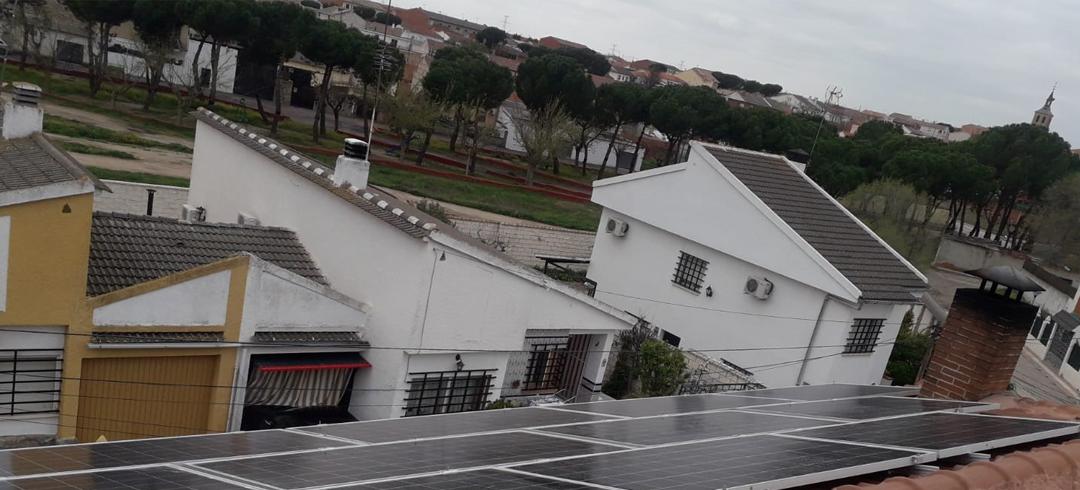 Proyecto de instalación fotovoltaica en vivienda unifamiliar de Chozas de Canales, Toledo